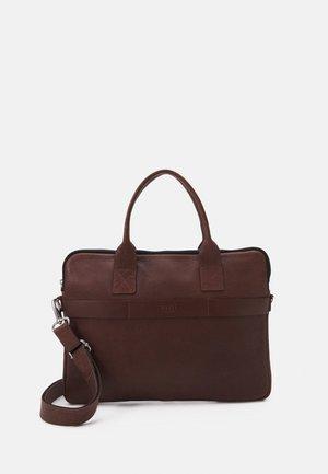FLY SLIM BRIEF 1 ROOM - Laptop bag - brown