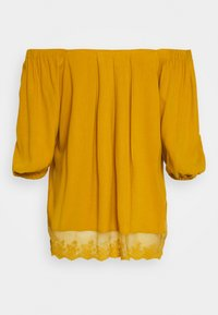 Cream - HAZELCR BLOUSE - Blouse - mustard yellow - 1