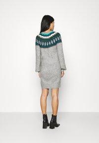 NAF NAF - Shift dress - gris clair - 2