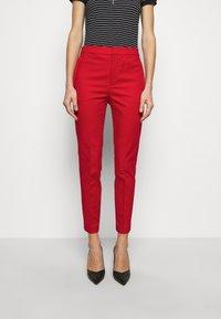 Lauren Ralph Lauren - STRETCH PANT - Chinos - lipstick red - 0