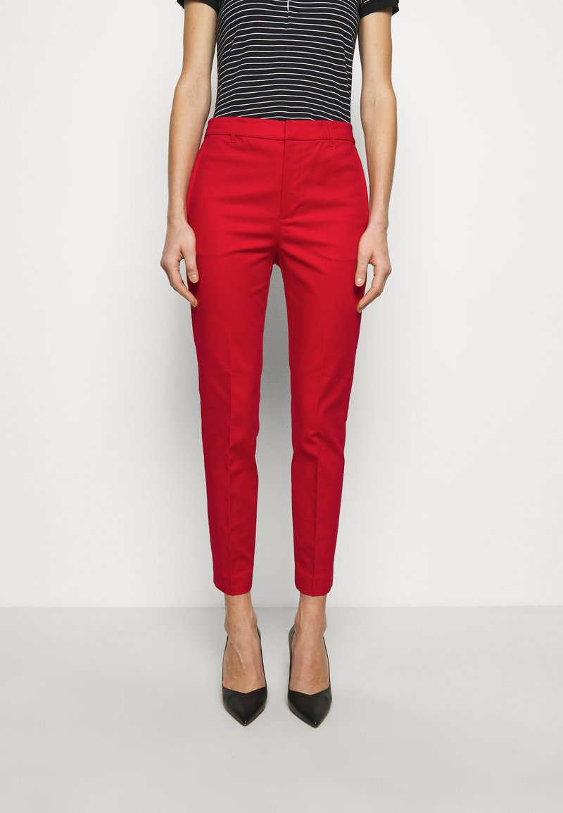 Lauren Ralph Lauren - STRETCH PANT - Chinos - lipstick red