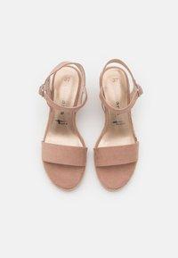 Tamaris - Wedge sandals - old rose - 5