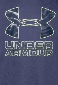 Under Armour - TECH HYBRID LOGO UNISEX - Print T-shirt - blue ink/x-ray - 2