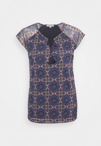comma casual identity - KURZARM - Blouse - multi-coloured - 4