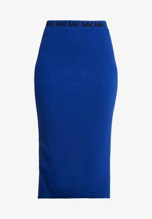 TRIM TUBE SKIRT - Pencil skirt - twilight blue