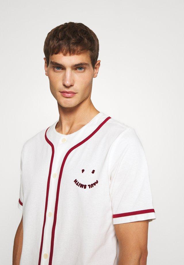 BASEBALL HAPPY - Print T-shirt - white