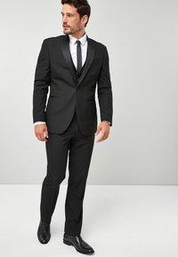 Next - TUXEDO - Pantaloni eleganti - black - 1