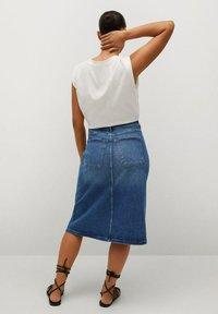 Violeta by Mango - Denim skirt - mittelblau - 2