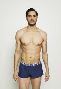 adidas Performance - BEACH - Plavky - dark blue - 0