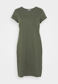 GAP - TEE DRESS - Vestido ligero - tweed green - 5