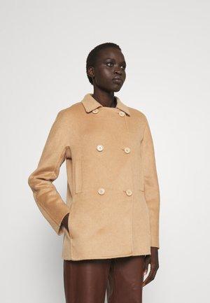 HACIENDA LUXURY - Short coat - warm sand