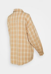 Missguided Maternity - UTILITY CHECK - Button-down blouse - cream - 1