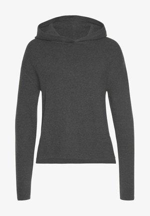 Hoodie - dark grey m