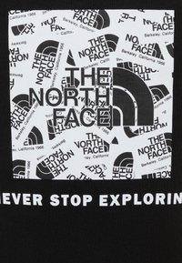 The North Face - BOX CREW UNISEX - Bluza - black - 2