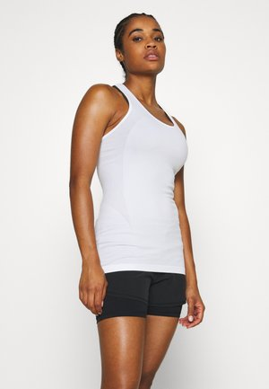 ATHLETE SEAMLESS WORKOUT - Topper - white