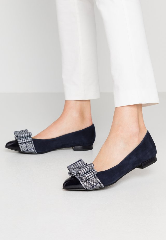 PARKER - Ballet pumps - baltik/bluette