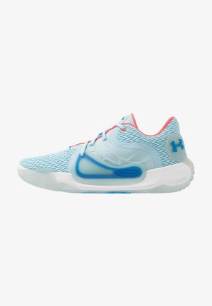 SPAWN 2 - Basketball shoes - blue frost/white/bombay blue