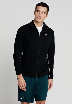 JACKET - Training jacket - black/white