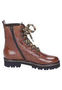 Maripé - Lace-up ankle boots - cognac - 5