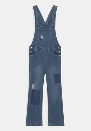 ISLA FLARED OVERALL - Dungarees - blue