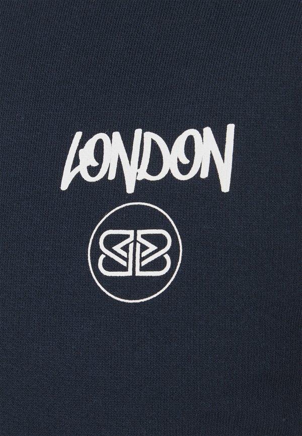 Burton Menswear London LONDON - Bluza - navy/granatowy Odzież Męska YPFA