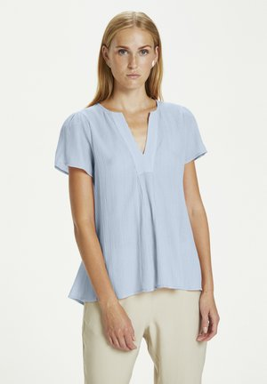 Blouse - placid blue