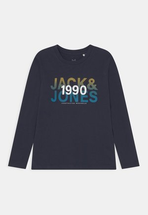 JCOFADE TEE CREW NECK JR - Långärmad tröja - navy blazer
