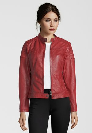 TALLY - Veste en cuir - red