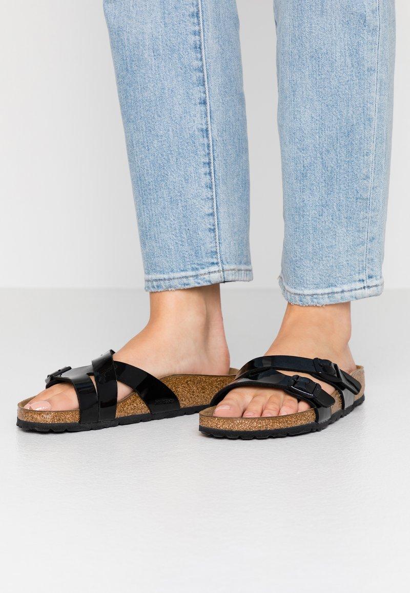 Birkenstock - YAO - Domácí obuv - black