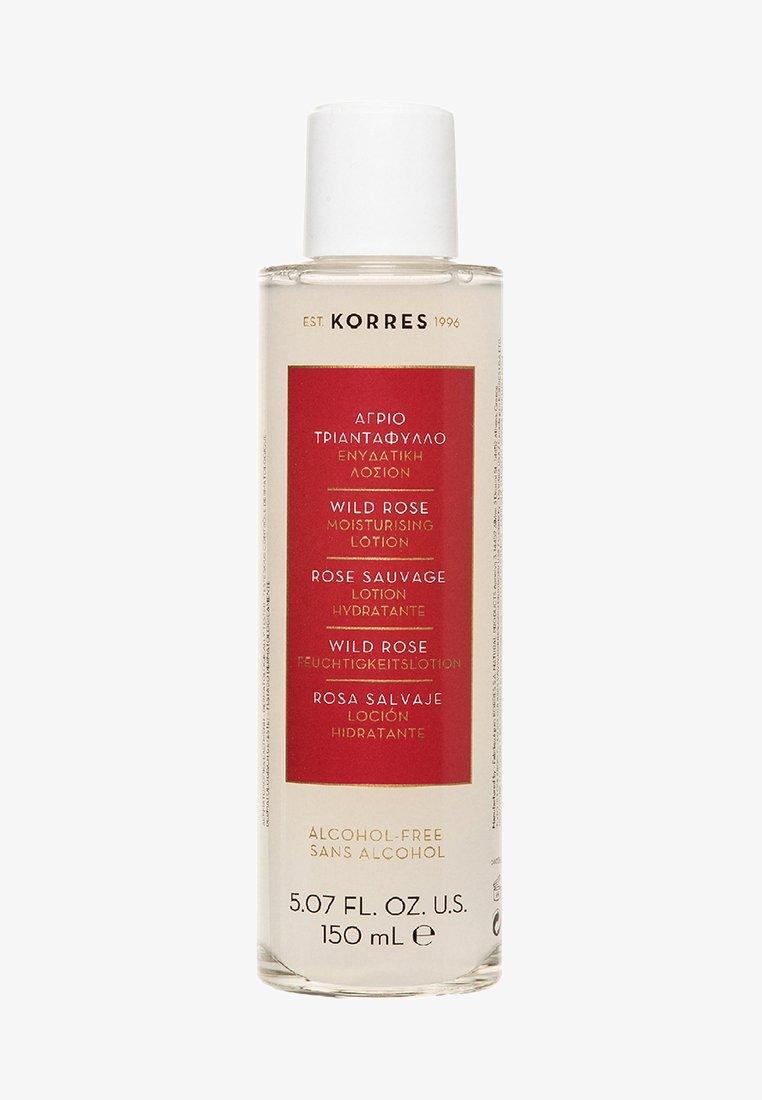 Korres - WILD ROSE MOISTURIZING LOTION - Face cream - -