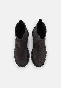 WEEKEND MaxMara - GENEPI - Platform ankle boots - dark grey - 4