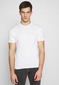 FAKTOR - PAUL TEE - Basic T-shirt - white - 0