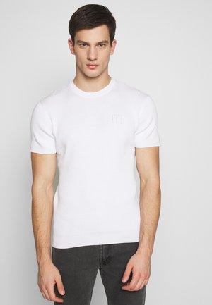 PAUL TEE - Jednoduché triko - white