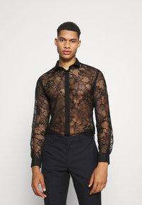 Twisted Tailor - KONA SHIRT - Camisa - black - 0
