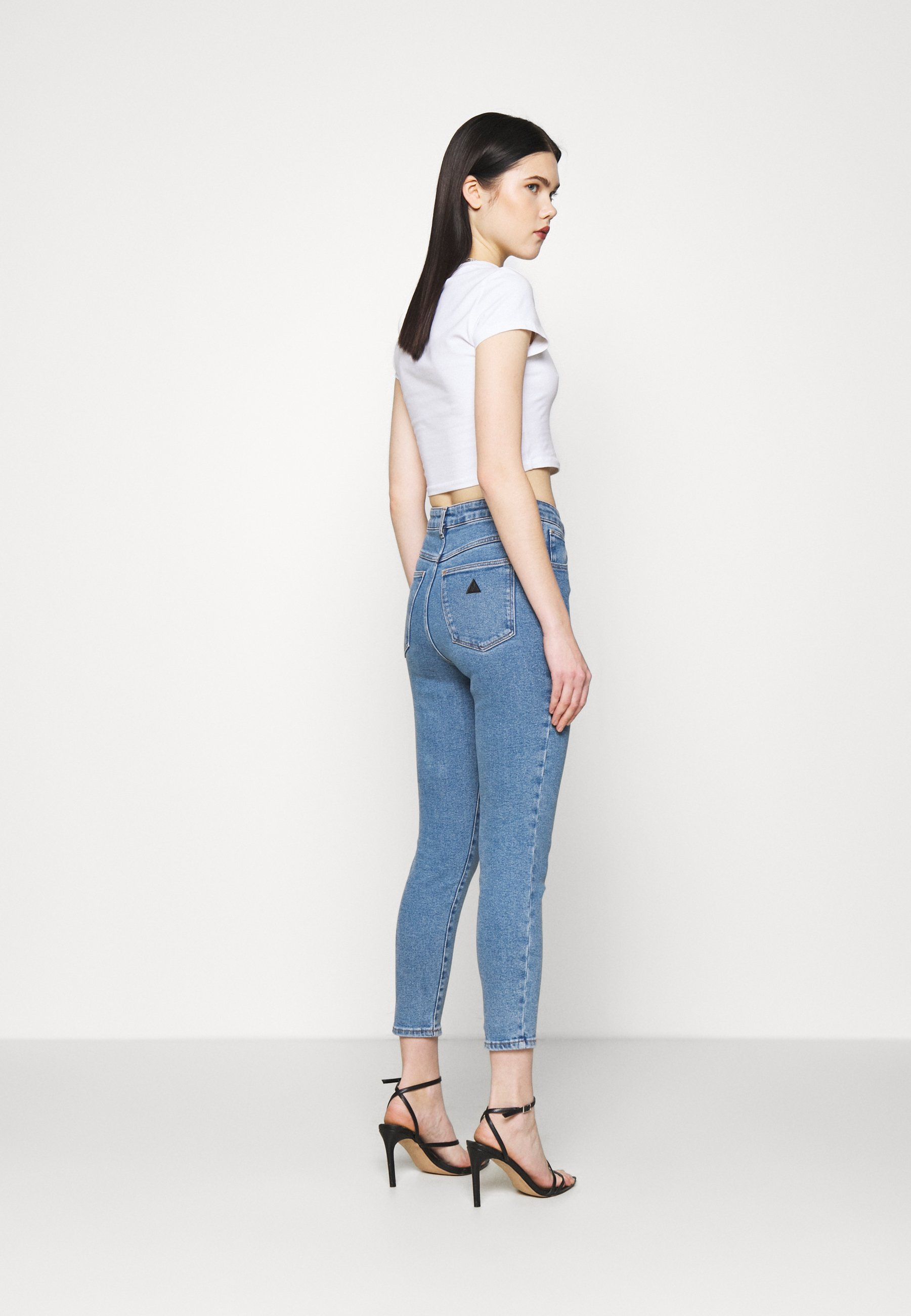 Women A HIGH SKINNY ANKLE BASHER - Jeans Skinny Fit