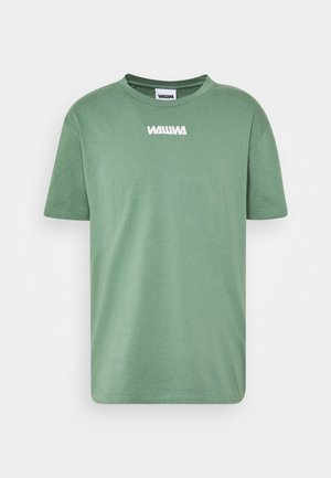 UNISEX NUUK SAGE - Print T-shirt - green