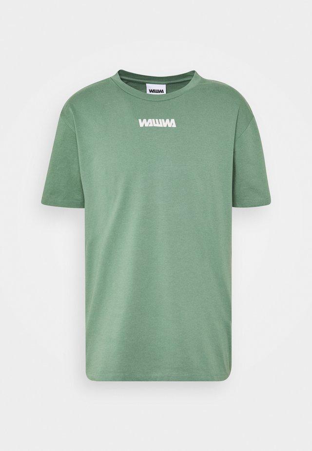 UNISEX NUUK SAGE - T-shirt print - green