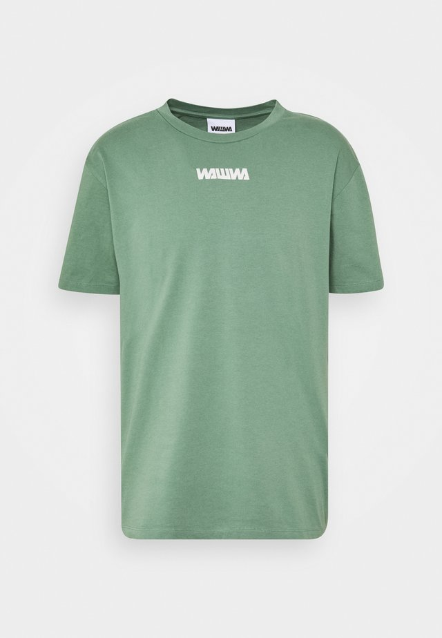 UNISEX NUUK SAGE - T-shirt con stampa - green