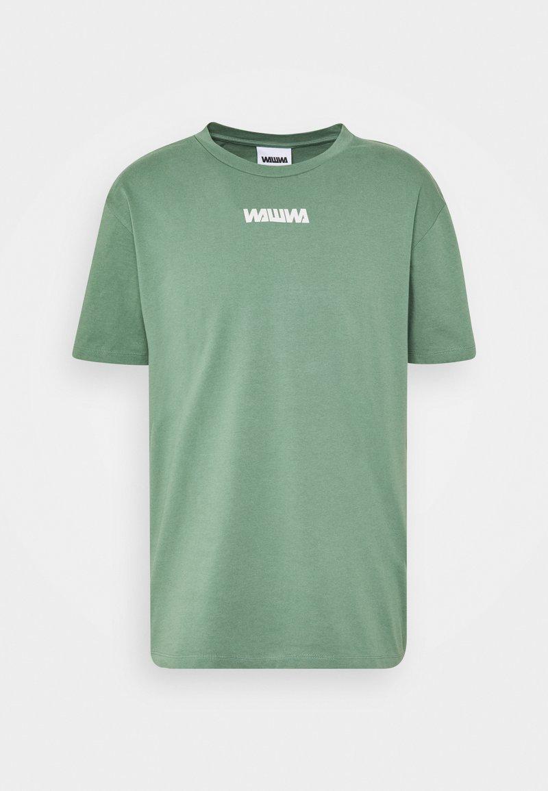 WAWWA - UNISEX NUUK SAGE - T-shirt z nadrukiem - green