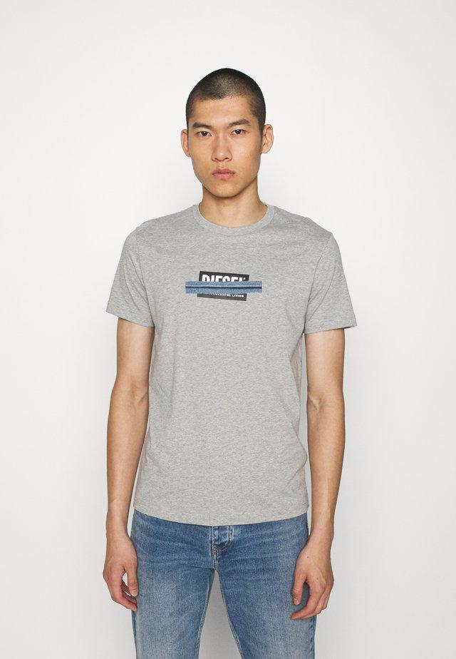 T-DIEGOS-X40 - T-Shirt print - grey