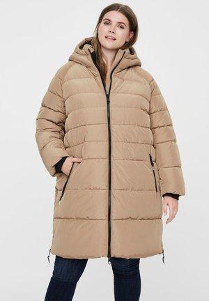 Winter coat - sepia tint