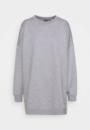 MALVA OVERSIZED CREW - Sweatshirt - light grey melange