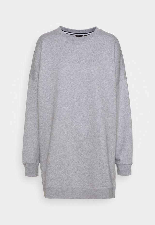 MALVA OVERSIZED CREW - Sweater - light grey melange