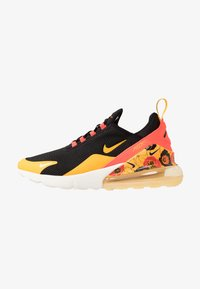 Nike Sportswear - AIR MAX 270 - Tenisky - black/universe gold/bright crimson/sail - 0