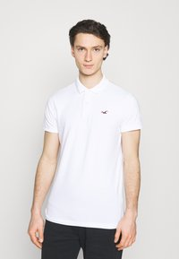 Hollister Co. - 3 PACK - Polo shirt - white/navy/black - 1