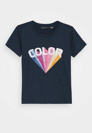 FRONT - Print T-shirt - dress blues
