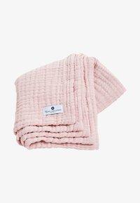 Nordic coast company - 4-IN-1 - Muslin blanket - rose - 0