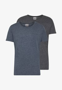 GRIND 2 PACK - Basic T-shirt - navy