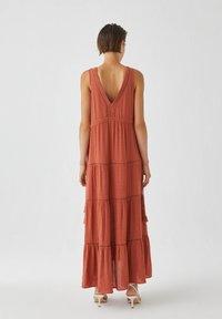 PULL&BEAR - Maxi dress - light brown - 1