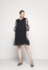 InWear - KATERINA DRESS - Cocktail dress / Party dress - marine blue - 1
